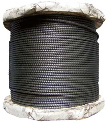 BRIGHT (STEEL) VIRE ROPE
