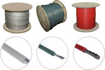 PVC STEEL WIRE ROPE