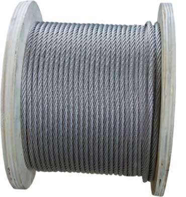 GALVANIZED (STEEL) VIRE ROPE