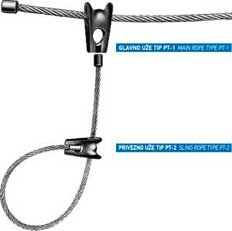 WIRE ROPE SLINGS FOR FOREST CHOKER SLING